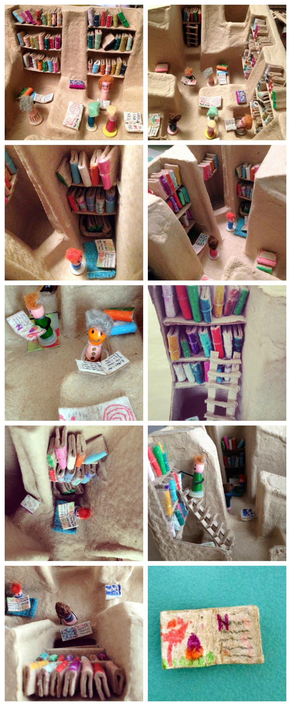 Adorable mini library