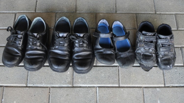 How the school shoes have survived