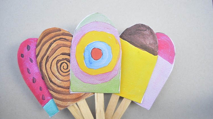 Paper Popsicles – for Imaginative Play