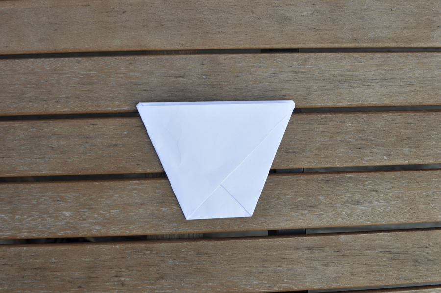 How to make a paper hot chip cup