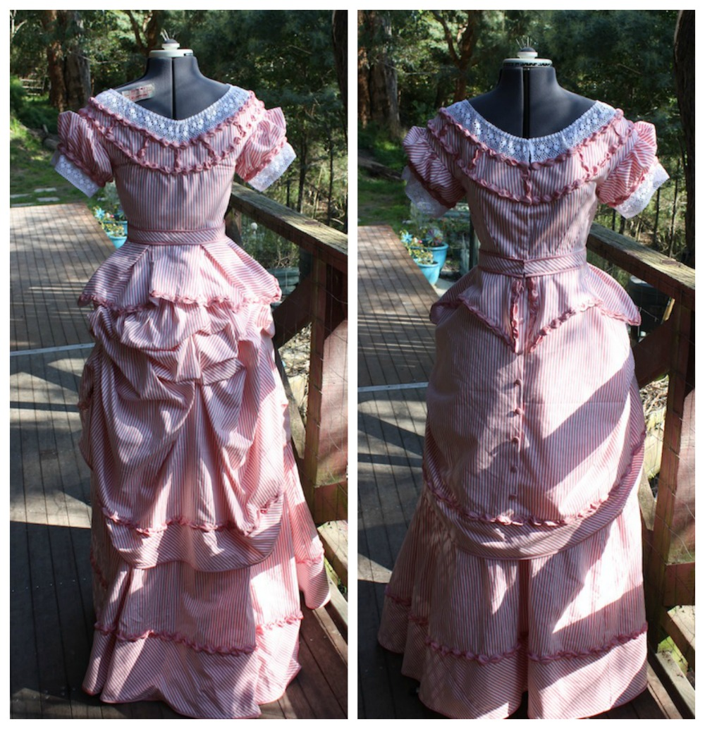 Early 1870s Gown Tutorial