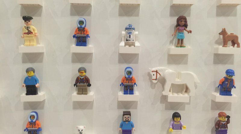 DIY LEGO Mini-Fig Board