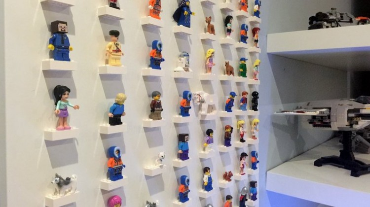 lego mini-figure display