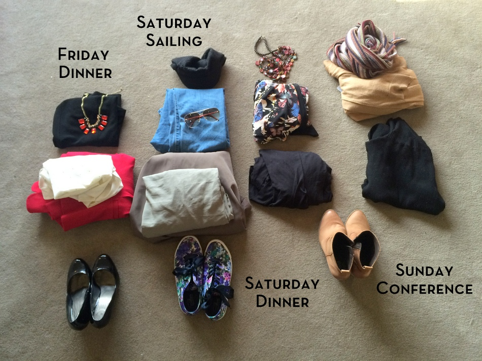 Outfit planning for travel