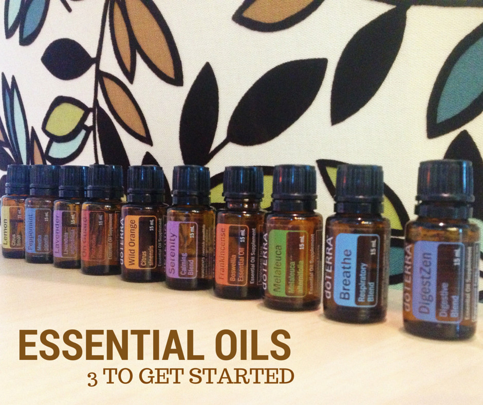 Essential Oils - 3 to get started