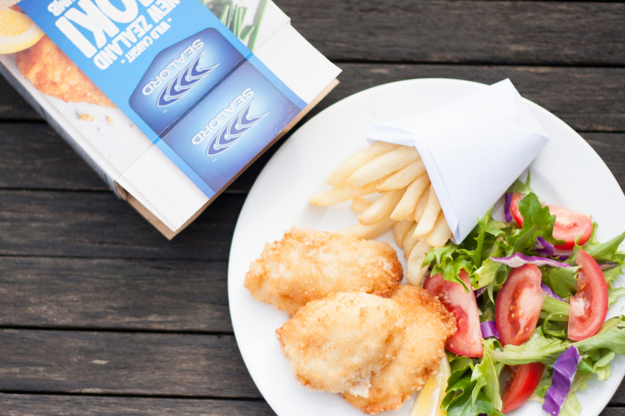 Fish and Chips at home