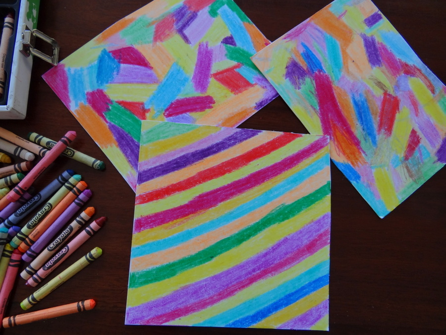 How to make rainbow scratch pictures