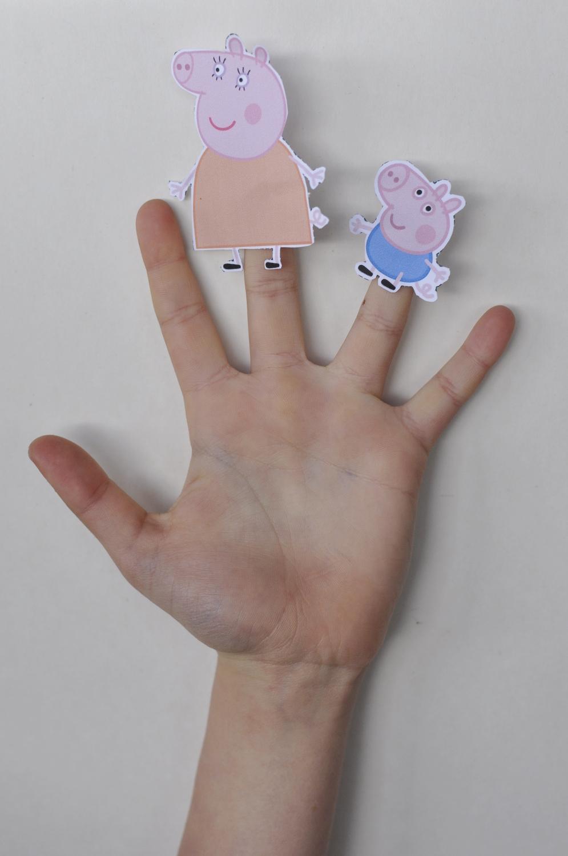 Peppa Pig Finger Puppets
