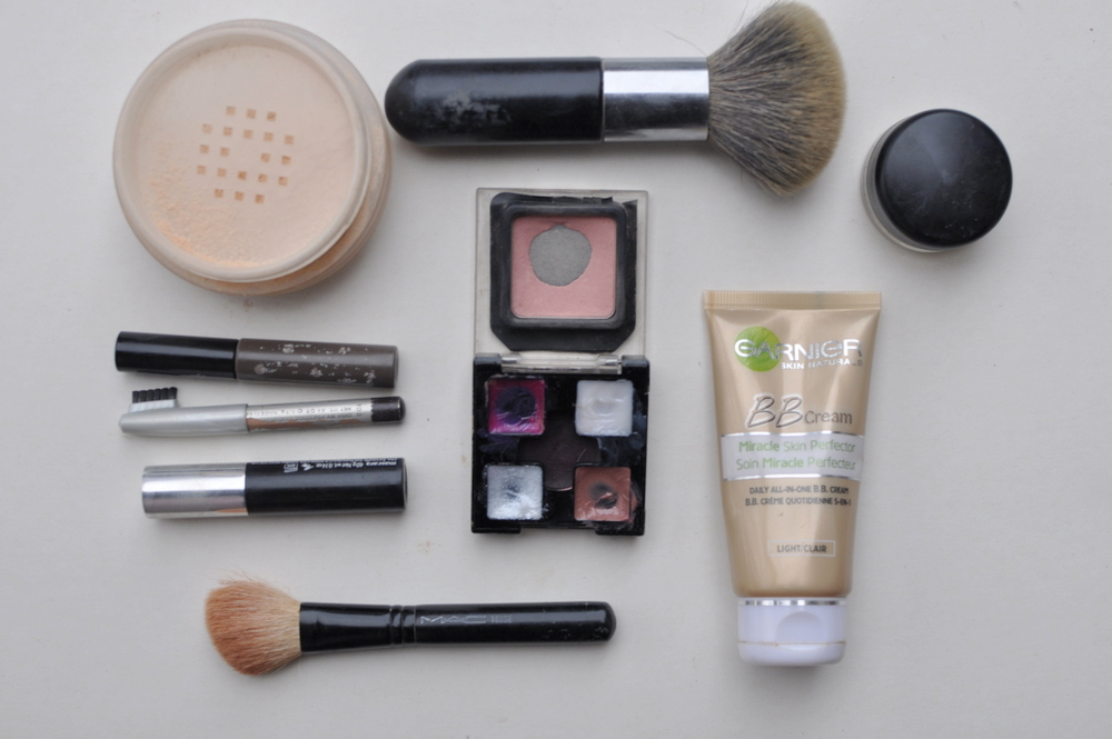 two minute make-up routine