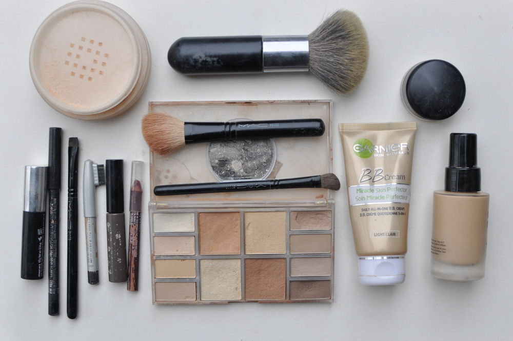 five minute make-up routine