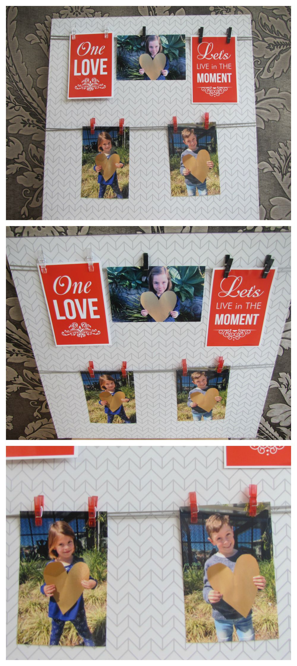 Father's Day Gift Idea - Photo board