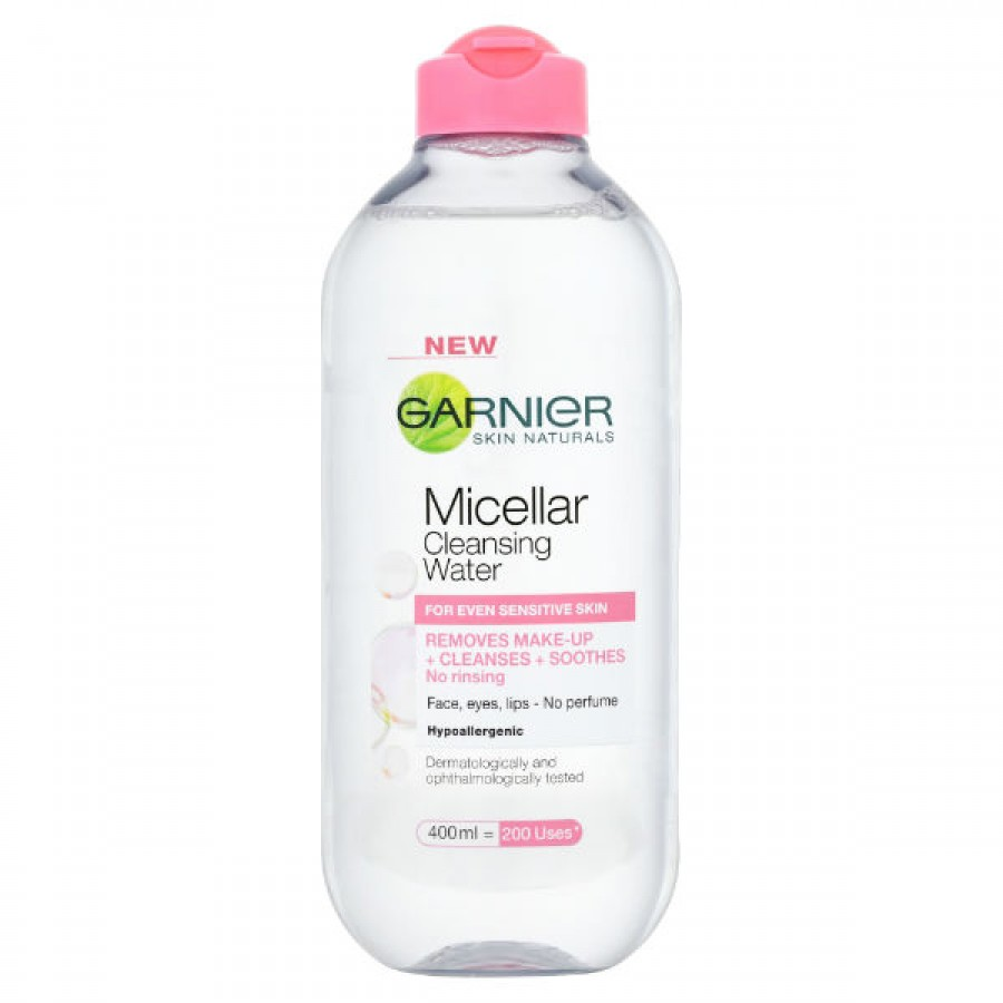 garnier skin naturals micellar cleansing water review