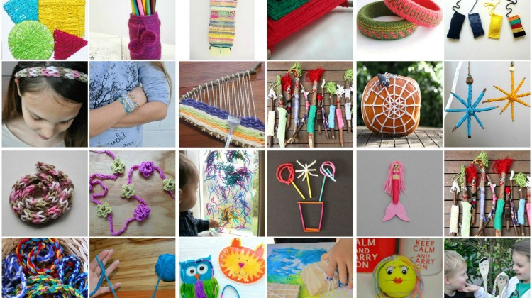Lots of Lovely Things for Kids to Make with Wool