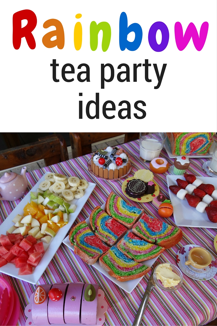 Rainbow Tea Party Ideas