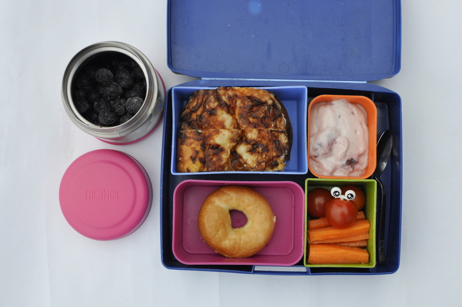Lunch Box Food Ideas - frozen berries