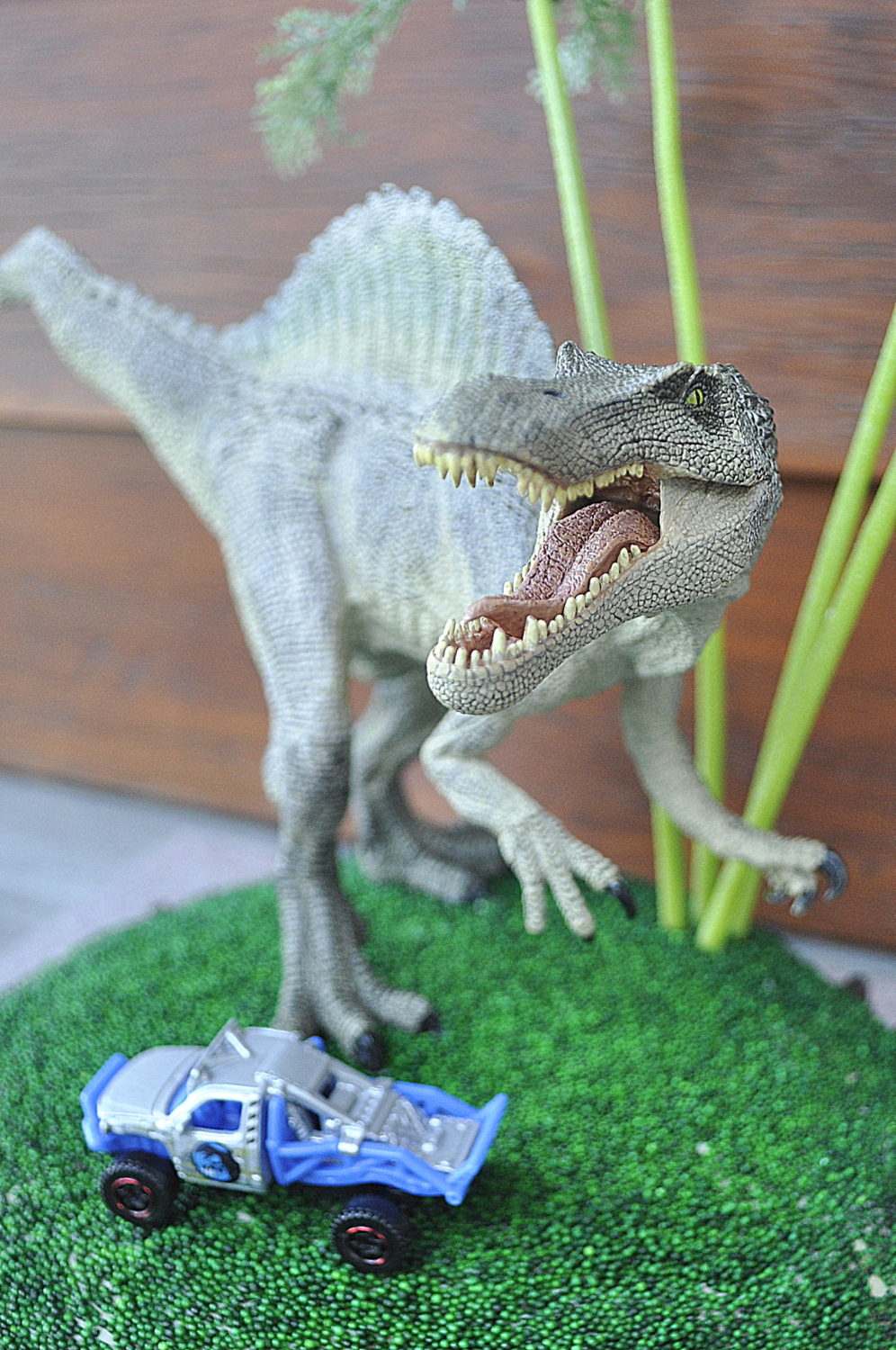 Jurassic World Inspired Birthday Cake