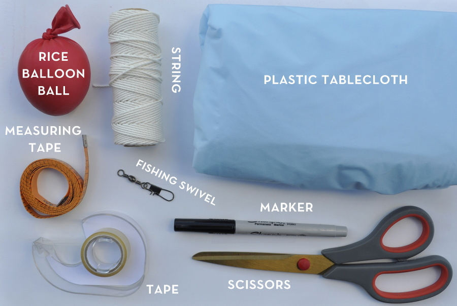 How to make a mini parachute that works