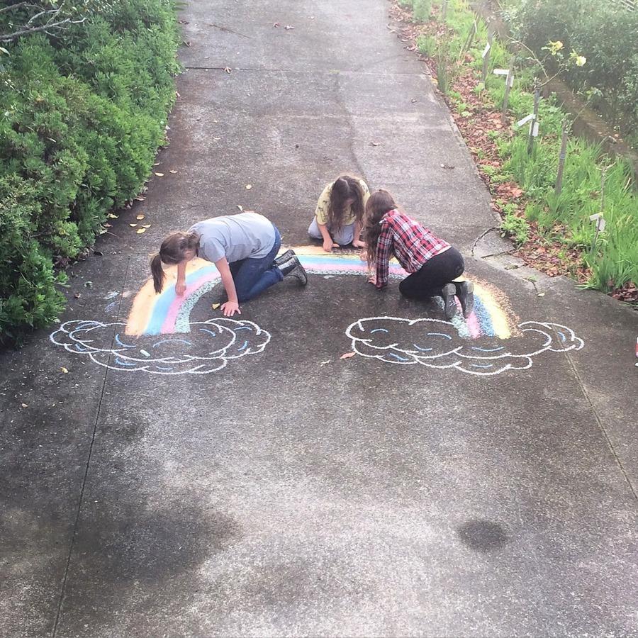 Chalk game ideas