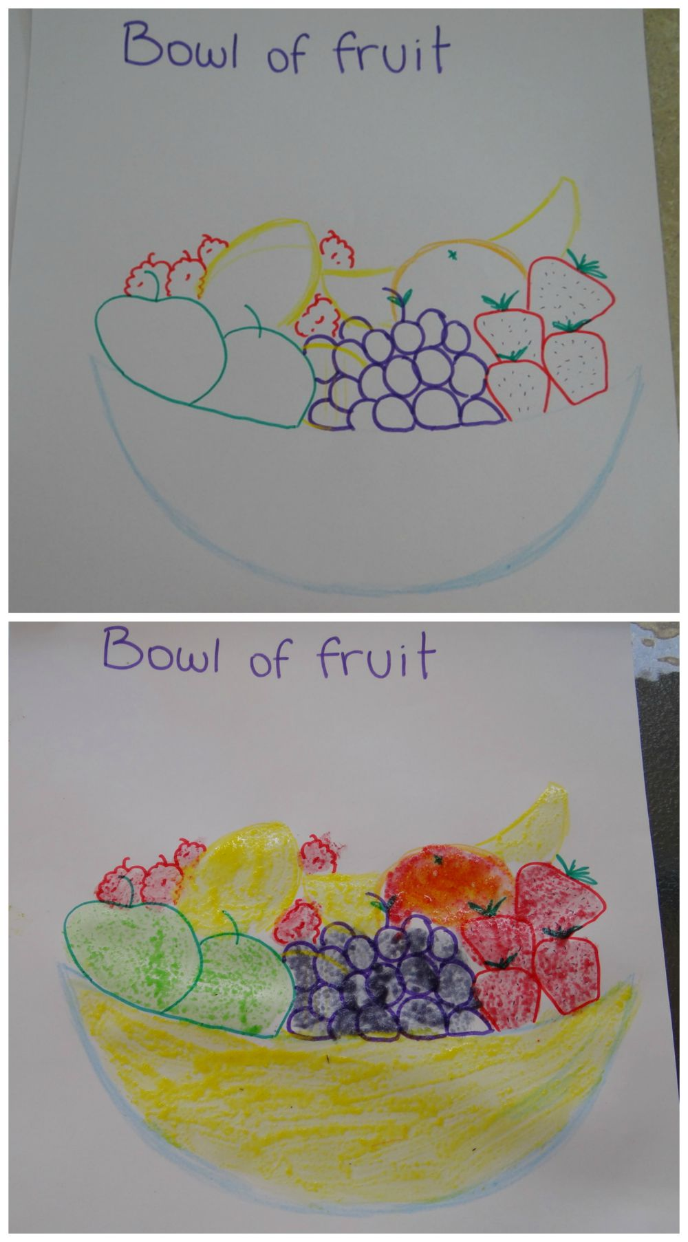Make your own scratch and sniff paintings with simple ingredients