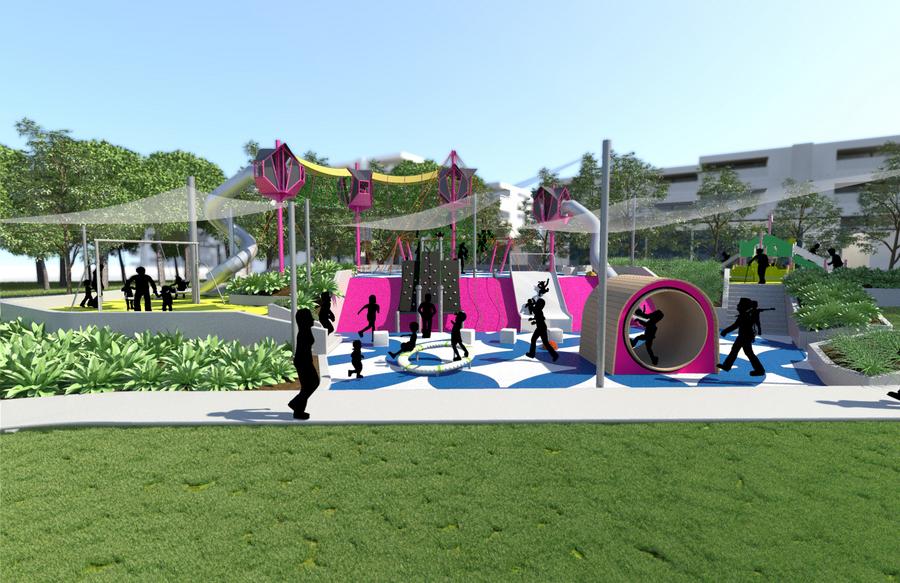 New Playground Southbank Brisbane