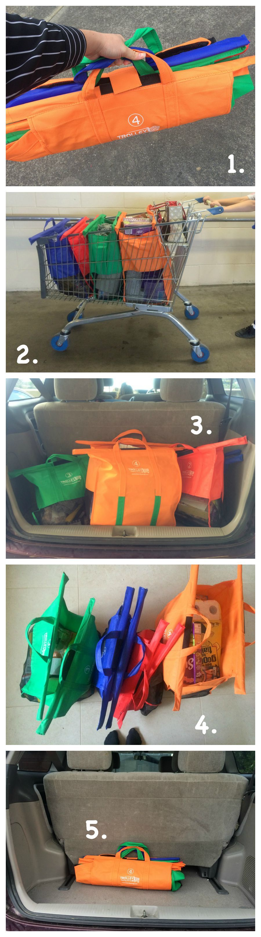 Trolley Bags Review - Using them