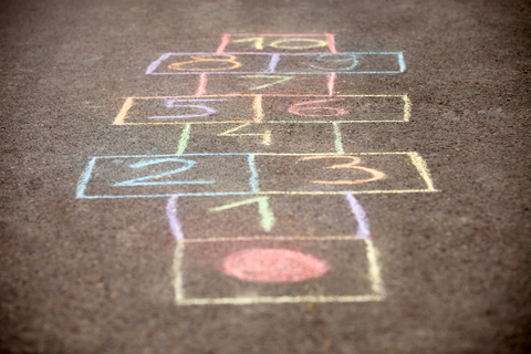 Chalk Games – Hopscotch | Be A Fun Mum