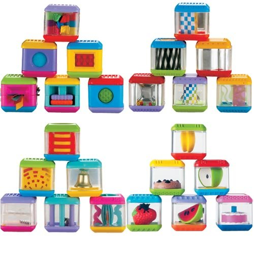 Fisher Price peek-a-blocks - toys for baby