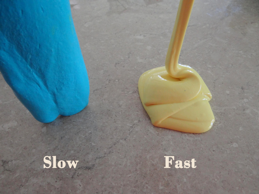 how to make stretchy clear slime