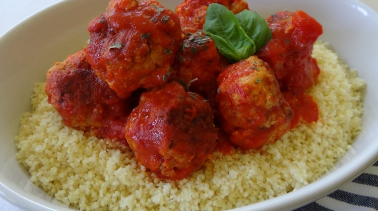 Cheesy Meatballs