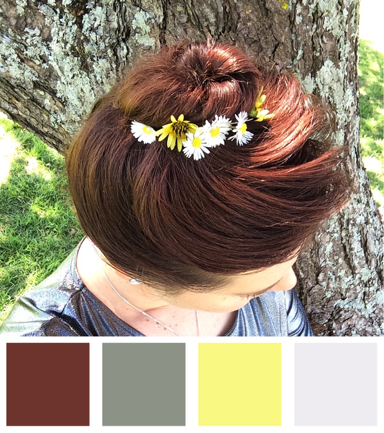 Wild Flowers In My Hair Colour Palette