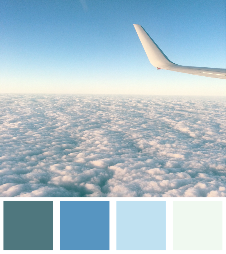 Fly Me Home Colour Palette