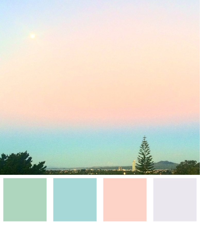 Magical Sky Colour Palette