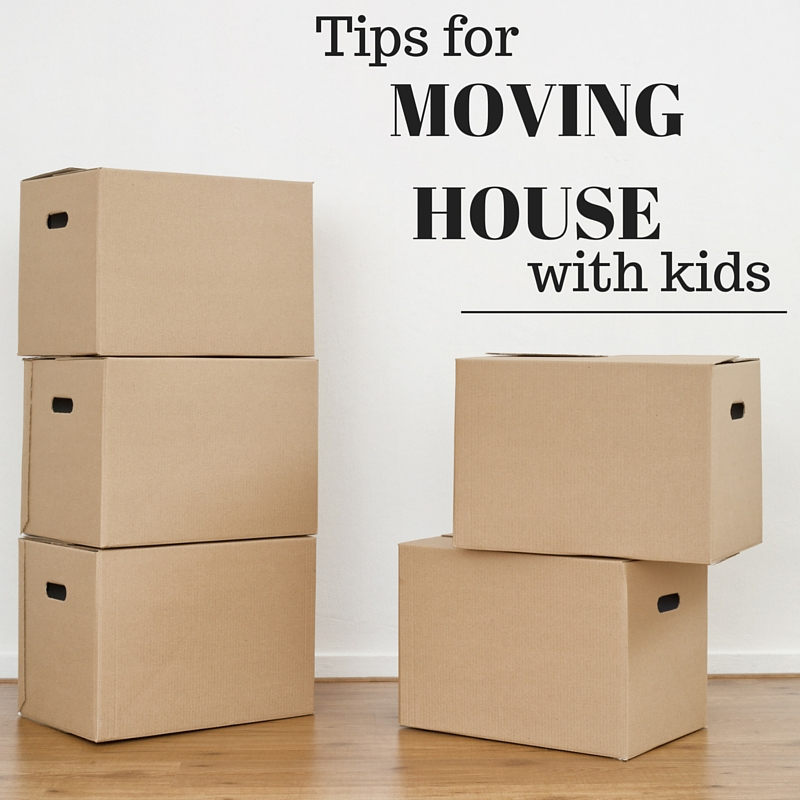 Tips for Moving House with Kids