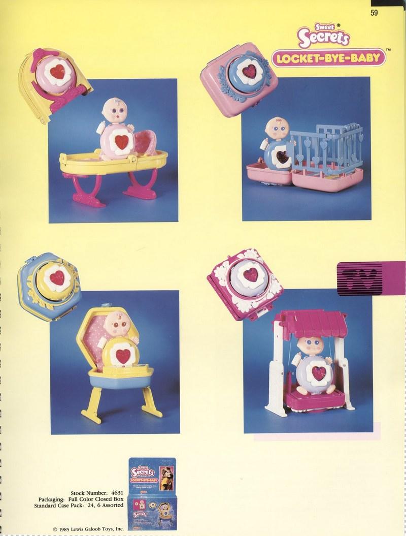 1986 Galoob Sweet Secrets Locket-Bye-Baby