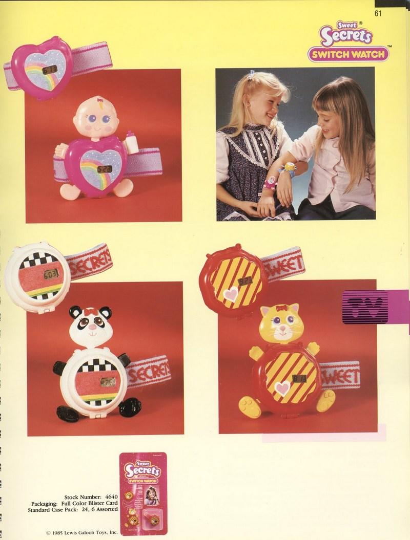 1986 Galoob Sweet Secrets Switch Watch