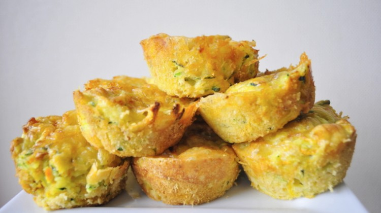 Cheese and Vegetable Muffins