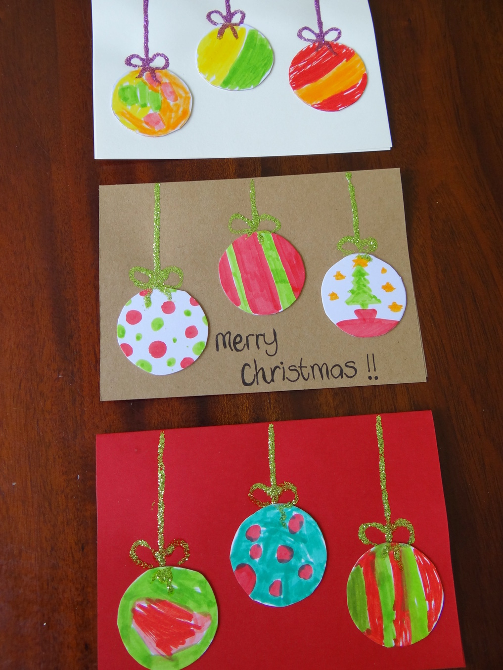 Homemade Christmas Cards