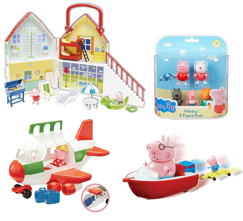 Peppa Pig Holiday Range
