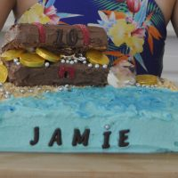 Treasure Chest Cake – Easy