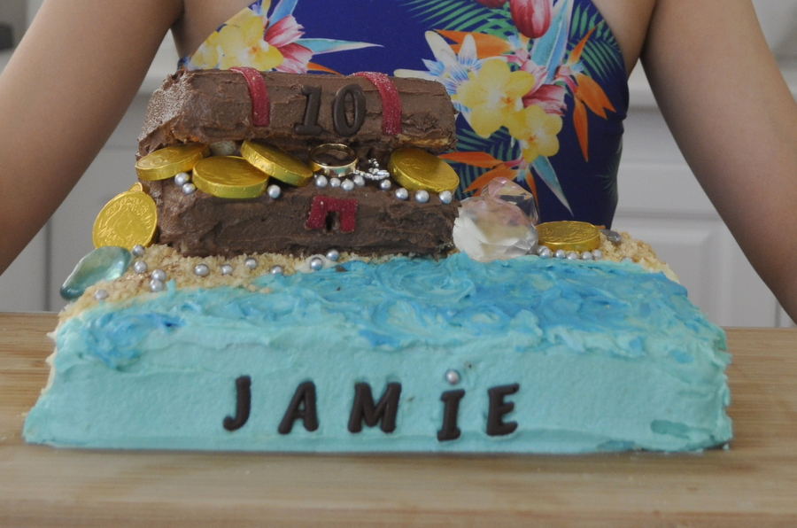 Treasure Chest Cake Easy Be A Fun Mum
