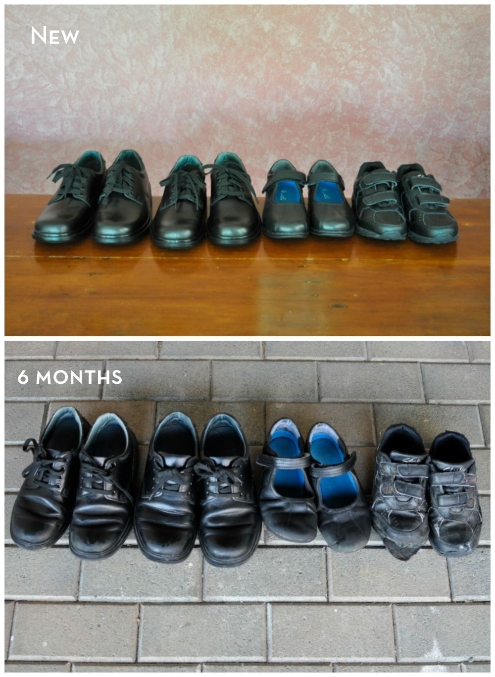 How long to school shoes last