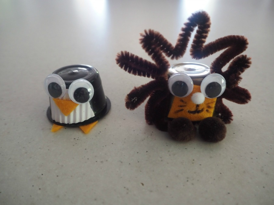 coffee pod creatures