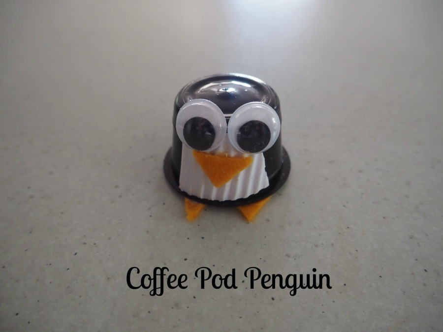coffee pod penguin