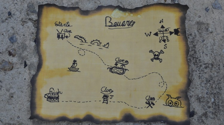 Design Your Own Treasure Map