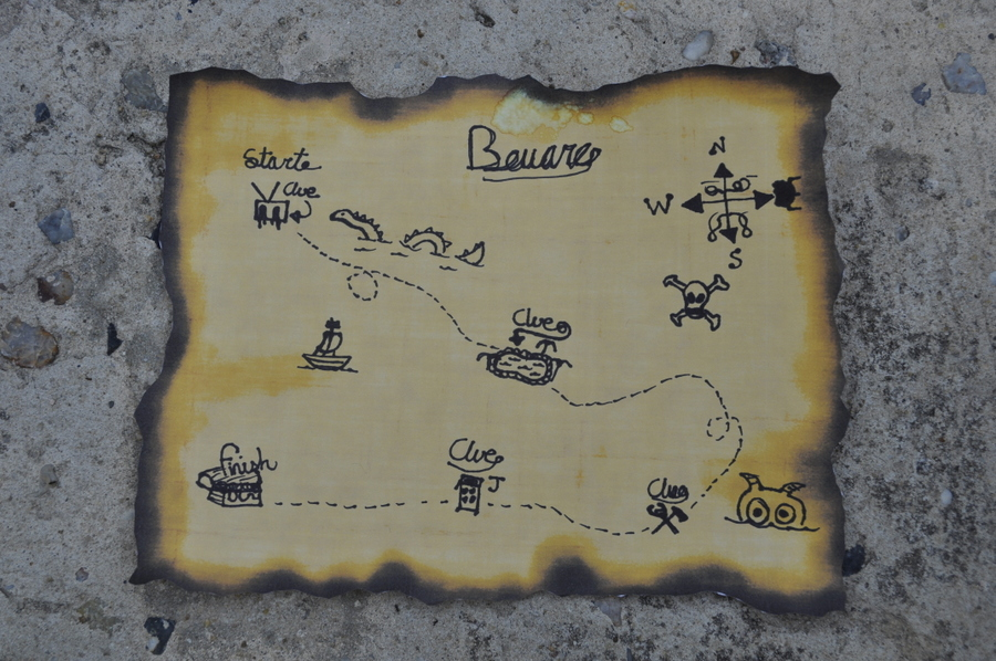 Treasure Map Printable for Kids