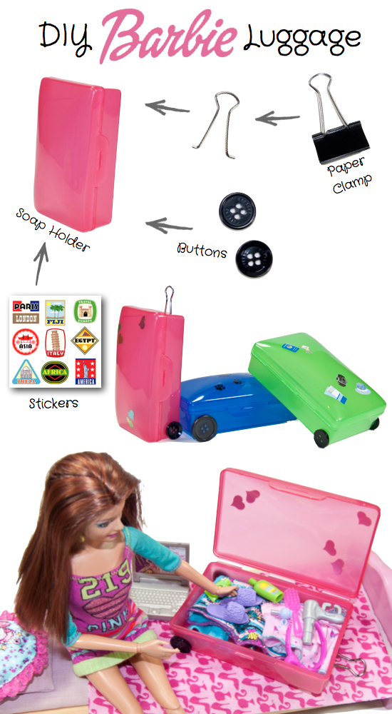 Make your own Barbie Luggage