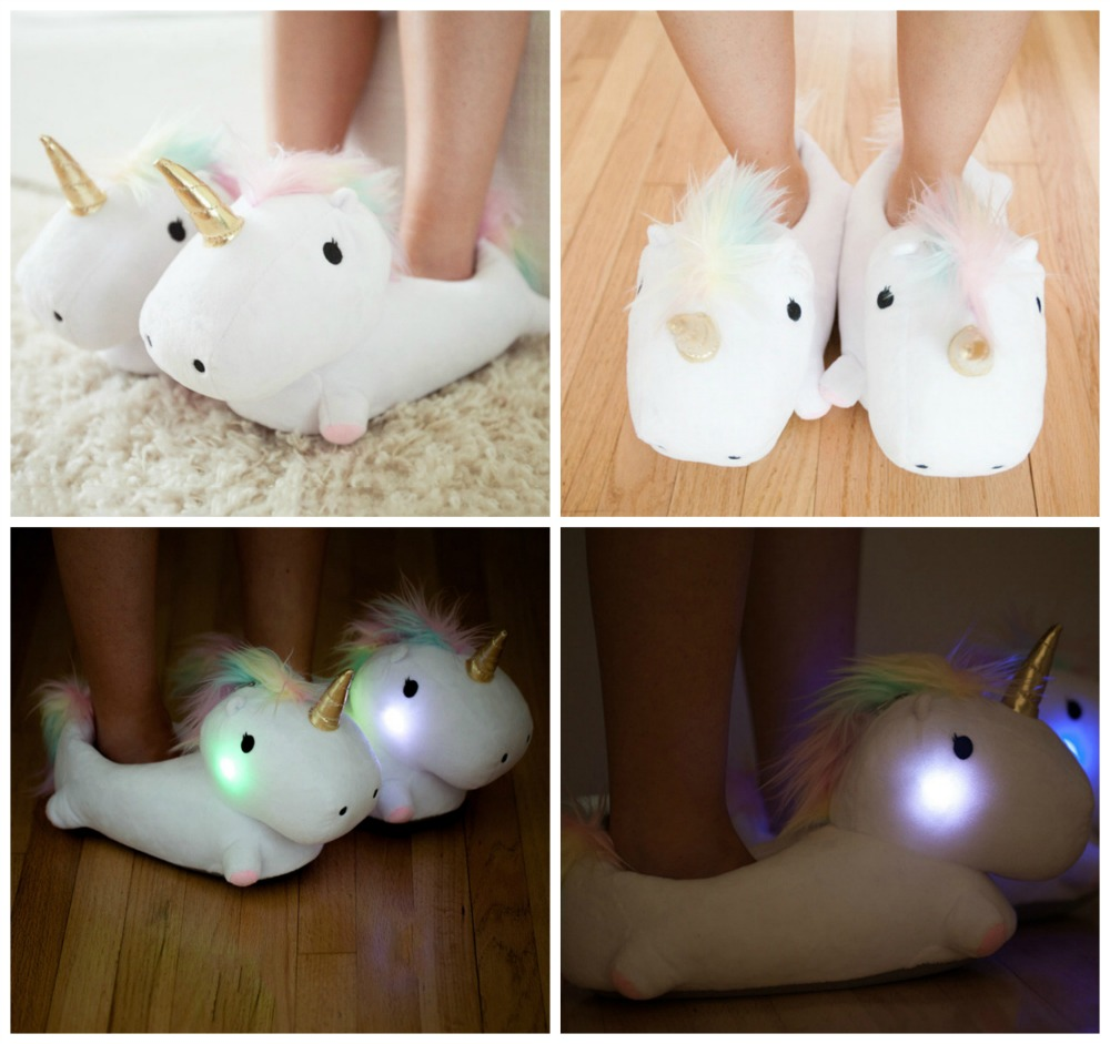 Unicorn Slippers cute