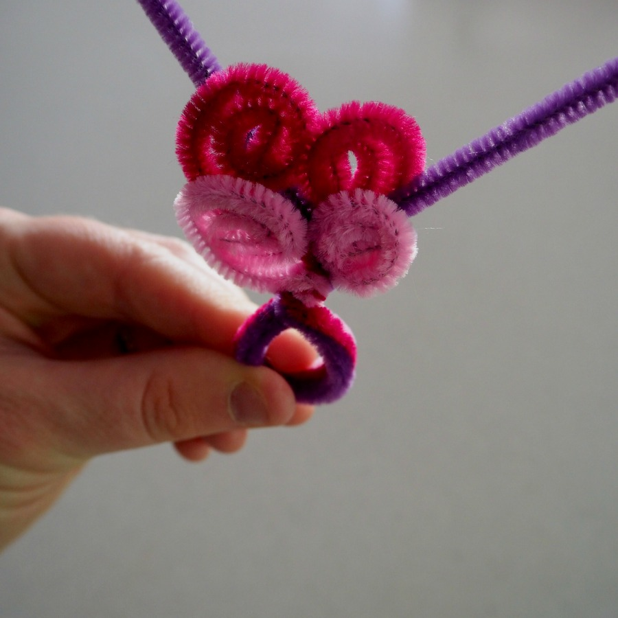 pipe cleaner butterfly ring