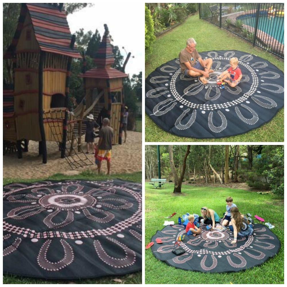 campfire mat