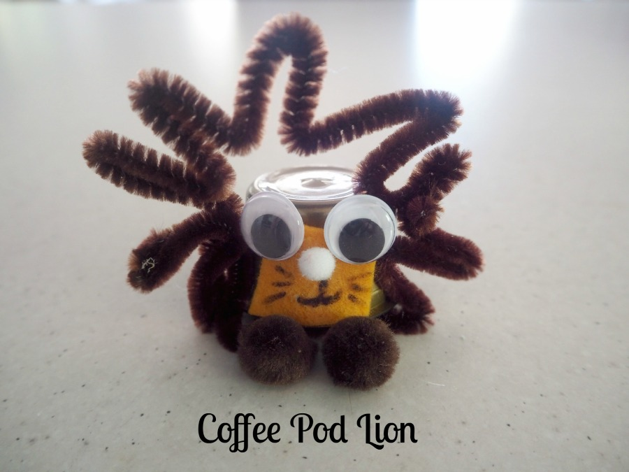 coffee pod lion craft